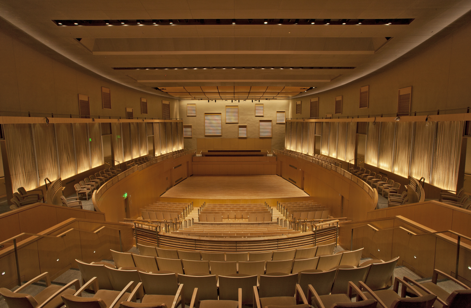 Earl and Darielle Linehan Concert Hall Mentioned in New York Times